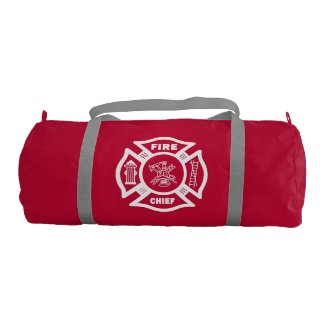 Fire Chief Personalized Bags