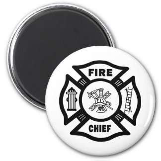 Fire Chief Refrigerator Magnets
