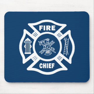 Fire Chief Mouse Pad