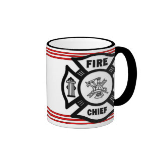 Fire Chief Ringer Coffee Mug