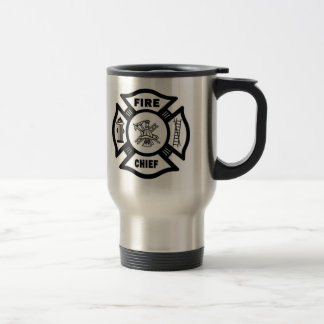 Fire Chief 15 Oz Stainless Steel Travel Mug