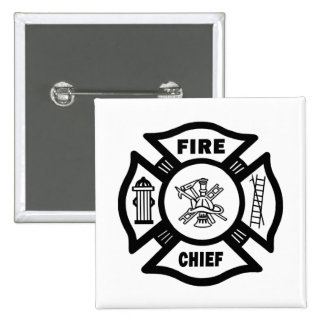 Fire Chief Pinback Button