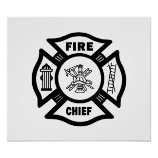 Fire Chief Poster