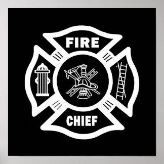 Fire Chief Print