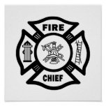 Fire Chief Posters