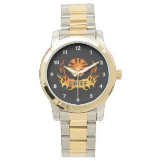 Fire Chiefs Flames Watches