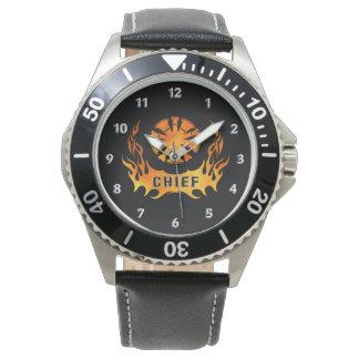 Fire Chiefs Flames Wristwatch