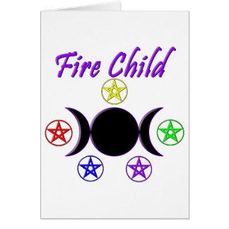 Fire Child Card