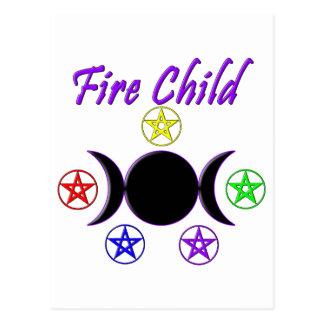 Fire Child Postcard