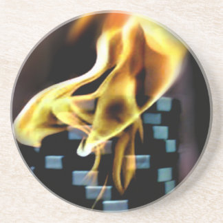 Fire Chips coasters