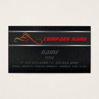 Fire Chopper Business cards