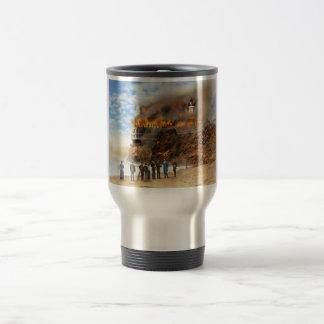 Fire - Cliffside fire 1907 Travel Mug