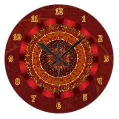 Fire Clock