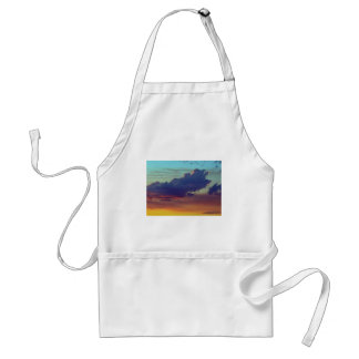Fire Clouds Adult Apron