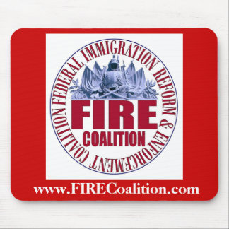 FIRE Coalition Mousepad