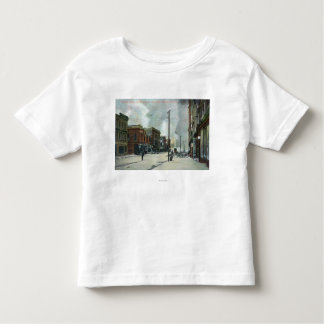 Fire Coming Up Third Street, 1906 Earthquake Toddler T-shirt