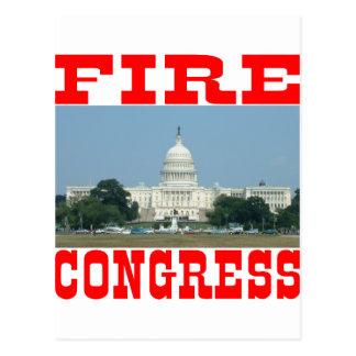 Fire Congress Postcard