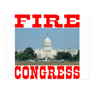 Fire Congress Postcard
