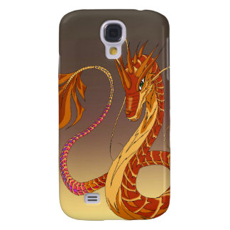 Fire Coral Dragon Dusk Galaxy S4 Cover