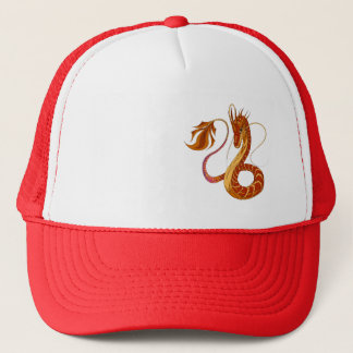 Fire Coral Dragon Hat