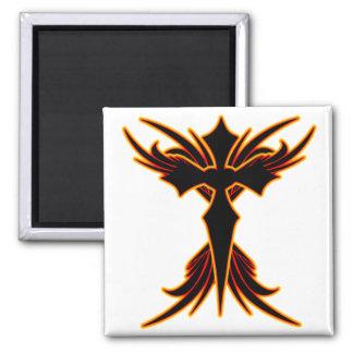 Fire Cross Magnets