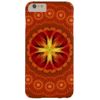 Fire Cross Mandala Barely There iPhone 6 Plus Case