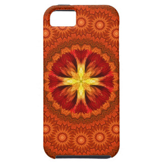 Fire Cross Mandala iPhone SE/5/5s Case