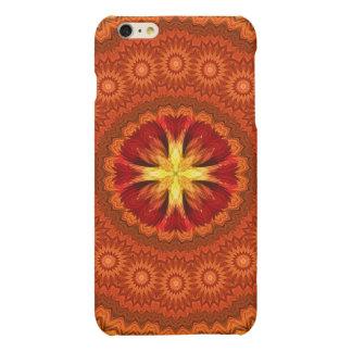 Fire Cross Mandala Matte iPhone 6 Plus Case