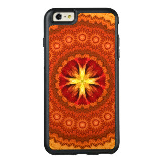 Fire Cross Mandala OtterBox iPhone 6/6s Plus Case