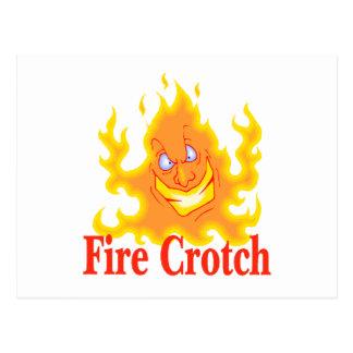 Fire Crotch Postcard