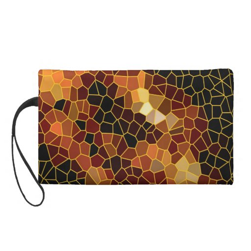 Fire Crystals Wristlet