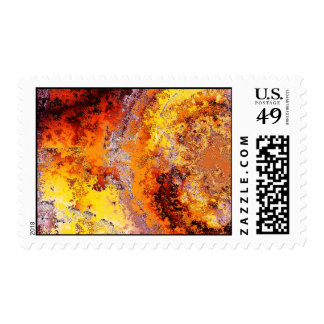 Fire Damaged Stamps