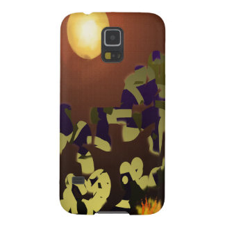 Fire Dance Abstract Design Galaxy S5 Case