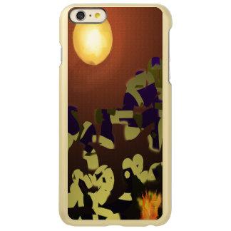 Fire Dance Abstract Design Incipio Feather® Shine iPhone 6 Plus Case