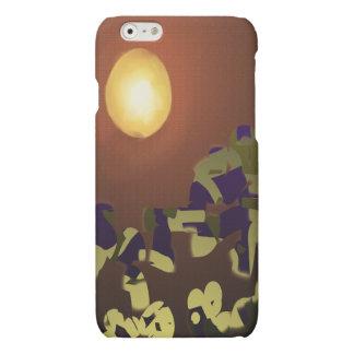 Fire Dance Abstract Design Matte iPhone 6 Case