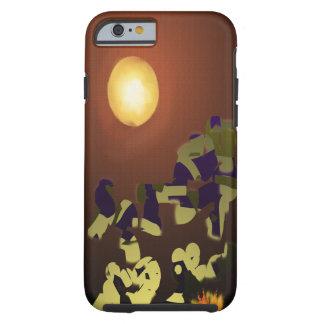 Fire Dance Abstract Design Tough iPhone 6 Case