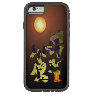 Fire Dance Abstract Design Tough Xtreme iPhone 6 Case
