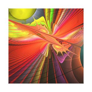 Fire dance canvas prints