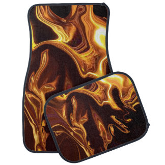 Fire Dance Car Floor Mat