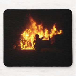 Fire Dance Mouse Pad