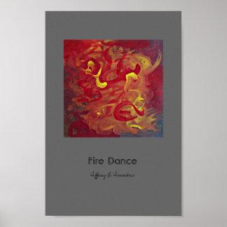 Fire Dance Poster