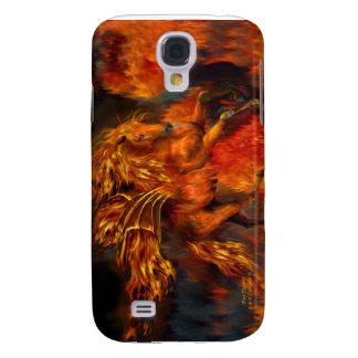 Fire Dancer Art Case for iPhone 3 Galaxy S4 Case