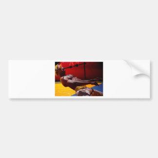 Fire Dancer Bumper Sticker