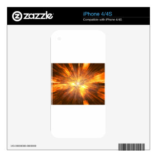 Fire Decals For iPhone 4