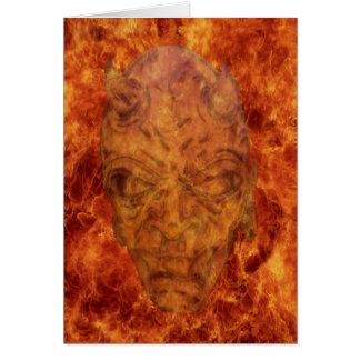 Fire Demon Card