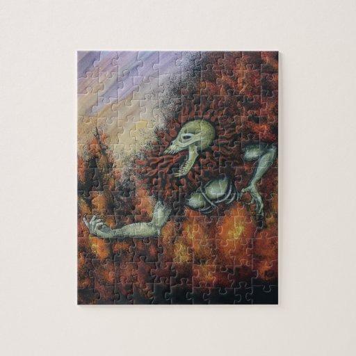Fire demon puzzles