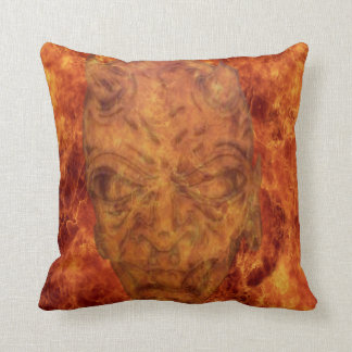 Fire Demon Reversible Pillow