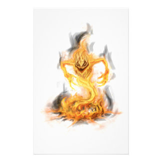 Fire Demon Stationery