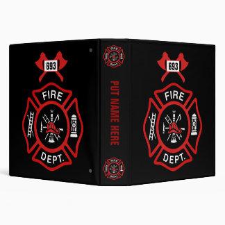 Fire Department Badge Binders
