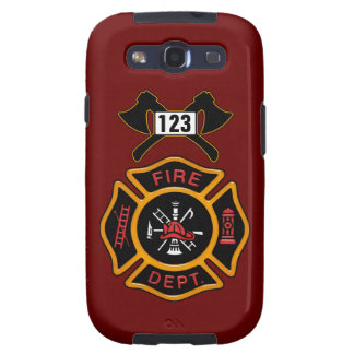 Fire Department Badge Samsung Galaxy SIII Cases